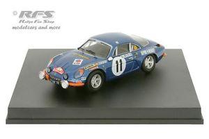 【送料無料】模型車 スポーツカー アルパインルノーモンテカルロラリーアンダーソンalpine renault a110 monte carlo rally 1972andersson 143 trofeu 0807or
