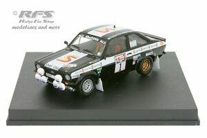 【送料無料】模型車 スポーツカー フォードエスコートrs 1800mk iiスコットランド1982バタネン 143 trofeu 1027ford escort rs 1800 mk ii rally scotland 1982vatanen 143 trofeu 1027