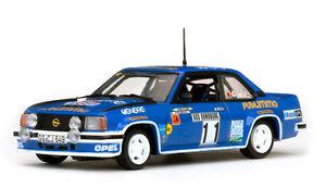 【送料無料】模型車 スポーツカー オペルascona 400114モンテカルロ1981 kullangberglund 143モデル43353opel ascona 400 11 4th monte carlo 1981 kullangberglund 143 model 43