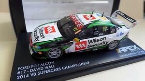 【送料無料】模型車 スポーツカー デービッドウォールフォードfgハヤブサ2014atcc 143ar40609david wall ford fg falcon 2014 atcc 143 scale ar40609