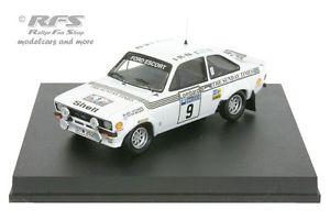 【送料無料】模型車 スポーツカー フォードエスコートラリーアリバタネンford escort rs 1800 mk ii rac rally 1977ari vatanen 143 trofeu 1016