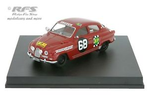 【送料無料】模型車 スポーツカー サファリラリーカールソンモスsaab 96safari rally 1965carlssonmoss 143 trofeu 1508