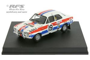【送料無料】模型車 スポーツカー フォードエスコートモンテカルロラリーティモford escort rs 1600 mk imonte carlo rally 1972timo mkinen 143