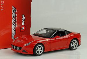 【送料無料】模型車 スポーツカー 2014フェラーリカリフォルニアtハードトップ118 bburago2014 ferrari california t hardtop red rouge 118 bburago
