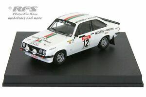 【送料無料】模型車 スポーツカー フォードエスコートアルガルベラリーウィリアムズford escort rs 2000algarve rally 1978williamswood 143 trofeu 1815
