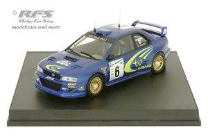 【送料無料】模型車 スポーツカー スバルimpreza wrcアルゼンチン1999kankkunen 143 trofeu 1113subaru impreza wrc rally argentina 1999kankkunen 143 trofeu 1113