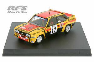 【送料無料】模型車 スポーツカー フィアットモンテカルロfiat 131 abarthmoutonannierally monte carlo 1980 143 trofeu 1411