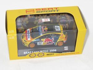 【送料無料】模型車 スポーツカー レッドブルシートレオンライデル143 red bull seat leon wtcc 2008 rrydell