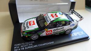 【送料無料】模型車 スポーツカー スコットフォードfgハヤブサ2014atcc 143ar40608scott pye ford fg falcon 2014 atcc 143 scale ar40608