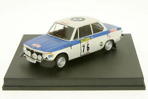 【送料無料】模型車 スポーツカー 143 tr1702 bmw 2002ポルトガル1972tiwarmbold143 tr1702 bmw 2002 tiwarmboldrally portugal 1972