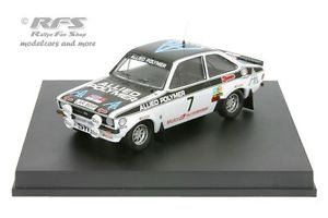 【送料無料】模型車 スポーツカー フォードエスコートウェールズラリーアリバタネンford escort rs 1800 mk iiwelsh rally 1976ari vatanen 143 trofeu 1028