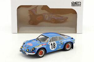 【送料無料】模型車 スポーツカー ルノーアルパイン#モンテカルロラリーrenault alpine a110 1800s 18 winner rallye monte carlo 1973 andruet, biche 1