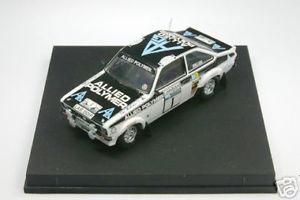 【送料無料】模型車 スポーツカー 143 tr1014フォードエスコートmk iiメキネンラリーrac 1975143 tr1014 ford escort mk ii makinen rallye rac 1975