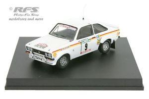 【送料無料】模型車 スポーツカー フォードエスコートrs 1800mk iiポルトガル1977バタネン 143 trofeu 1024ford escort rs 1800 mk ii rally portugal 1977vatanen 143 trofeu 1024