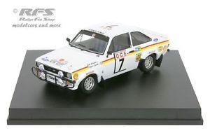 【送料無料】模型車 スポーツカー フォードエスコートモロッコラリークラークford escort rs 1800 mk ii rally morocco 1976 clark 143 trofeu 102107