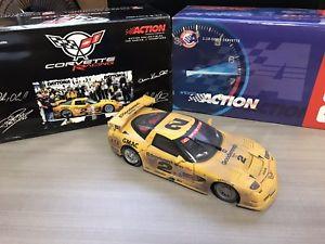 【送料無料】模型車 スポーツカー アクショングッズダイカストコルベットレーシング#ロンフェローレース2001 action collectibles 118 diecast corvette racing c5r 2 ron fellows raced