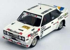 【送料無料】模型車 スポーツカー フィアットアバルトスウェーデンラリーfiat 131 abarth 4th rally of sweden 79 m aleni kivimkitrofu 1430