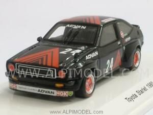 【送料無料】模型車 スポーツカー トヨタスターレットスパークtoyota starlet 1980 a haglwara 143 spark r70237
