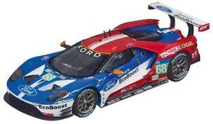 【送料無料】模型車 スポーツカー フォードレース#スロットカーモデルカレラford gt race car 68 slot car 132 model carrera