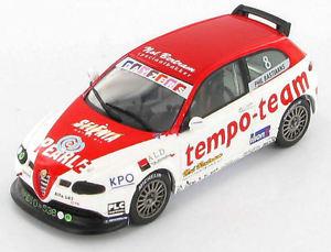 【送料無料】模型車 スポーツカー アルファロメィルalfa romeo 147 gta phil bastiaans 2003 143 s0482