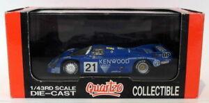 【送料無料】模型車 スポーツカー スケールポルシェロングテールケンウッドルマン#quartzo 143 scale q3052porsche 956 long tail kenwood 21 le mans 1983