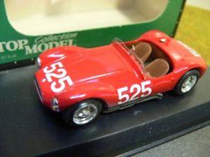 【送料無料】模型車 スポーツカー モデルマセラティマセラティミッレミリア#トヨタ143 top model maserati a6 gcs mille miglia 1953 525 tmc077