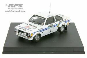 【送料無料】模型車 スポーツカー フォードエスコートrs 1800mk ii rac1977ロジャークラーク143 trofeu 1018ford escort rs 1800 mk ii rac rally 1977roger clark 143 trofeu 1018