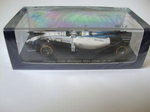 【送料無料】模型車 スポーツカー スパークフェリペマッサウィリアムズメルセデスアブダビ143 spark felipe massa williams fw36 mercedes 2nd 2014 abu dhabi gp