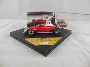 【送料無料】模型車 スポーツカー quartzo 4031フェラーリ312t12ニッキーラウダフランスグランプリ1975