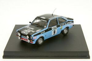 【送料無料】模型車 スポーツカー フォードエスコートクラークラリーラリー143 tr1017 ford escort mkii clark rac rally 78 rally