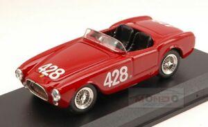 【送料無料】模型車 スポーツカー フェラーリ#ディシチリアアートアートメートルferrari 225 s 428 accident giro di sicilia 1953 masetticappi 143 art art098 m