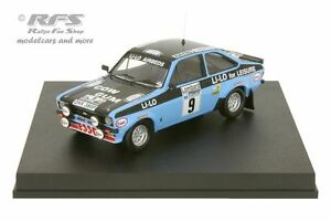 【送料無料】模型車 スポーツカー フォードエスコートラリーロジャークラークford escort rs 1800 mk ii rac rally 1978roger clark 143 trofeu 1017