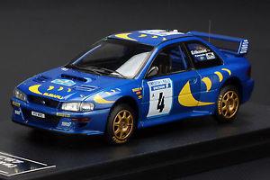 【送料無料】模型車 スポーツカー スバルimpreza4 1997スウェーデン**kenneth eriksson** hpi8575 143subaru impreza 4 1997 swedish rally **kenneth eriksson** hpi 8575