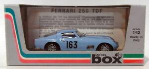 【送料無料】模型車 スポーツカー ボックスモデル1438441ferrari 250 tdf163de france 1958box model 143 scale 8441ferrari 250 tdf 163 tour de france 1958