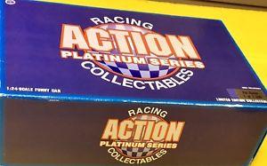 【送料無料】模型車 スポーツカー パットオースティンレッドウィングアクションプラチナシリーズnhra pat austin red wing shoes action platinum series collectable