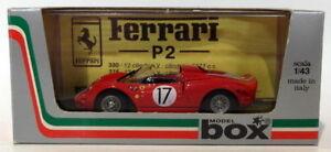 【送料無料】模型車 スポーツカー ボックスモデル143ダイカスト8459ferrari 365p217 le1965box model 143 scale diecast 8459ferrari 365 p2 17 le mans 1965red