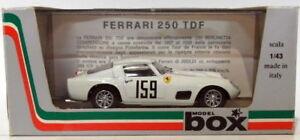 【送料無料】模型車 スポーツカー ボックスモデル143ダイカスト8427ferrari 250159de france1959box model 143 scale diecast 8427ferrari 250 159 tour de france 1959white