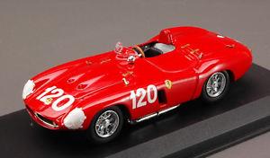 【送料無料】模型車 スポーツカー フェラーリ750モンツァ120targaフロリオ1955 maglioli sighinolfi 143モデルferrari 750 monza 120 retired targa florio 1955 maglioli sighinolfi