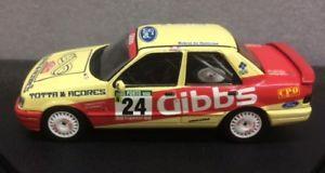 【送料無料】模型車 スポーツカー フォードシエラコスワースギブスford sierra cosworth 4x4 gibbs f peres minipartestrofeu mnp223