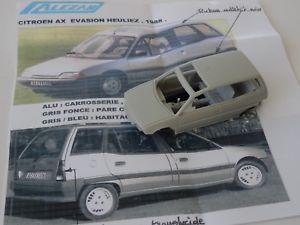 【送料無料】模型車 スポーツカー モデルシトロエンchestnut models 143 citroen ax evasion concept heuliez 1988