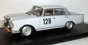 【送料無料 benz】模型車 128 スポーツカー スパークスケールベンツ#モンテカルロラリーspark carlo 143 scale s1004 mercedas benz 220 se 128 winner monte carlo rally 1980, 坂城町:97dbe773 --- sunward.msk.ru