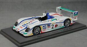 【送料無料】模型車 スポーツカー スパークアウディルマンレースビーラピロマクニッシュspark audi r8 le mans 24 hour race 2005 biela, pirro amp; mcnish s0671 143
