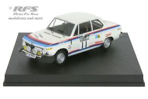 【送料無料】模型車 スポーツカー ラリートッドbmw 2002 tirac rally 1973warmboldtodt 143 trofeu 1729