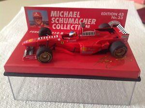 【送料無料】模型車 スポーツカー ミハエルシューマッハフェラーリ143 msc 33 michael schumacher 1997 ferrari f 310 b