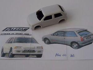【送料無料】模型車 スポーツカー モデルシトロエンスポーツドアロックchestnut models 143 citroen ax sport 3 doors 1988