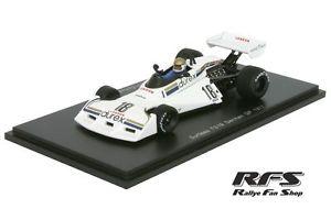 【送料無料】模型車 スポーツカー サーティースフォーミュラグランプリドイツスパークsurtees ts19 fordschuppanformula 1 gp germany 1977 143 spark 4011