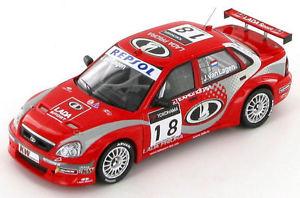 【送料無料】模型車 スポーツカー ラダヴァンラゲンlada priora jaap van lagen wtcc 2009 143