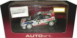 【送料無料】模型車 スポーツカー オートアートトヨタカローラauto art 69981 toyota corolla wrc 1999 d auriold giraudet startnr 4 143