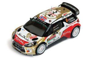 【送料無料】模型車 スポーツカー 143シトロエンds3 wrcアブダビモンテカルロ2014 mostberg143 citroen ds3 wrc abu dhabi total rally monte carlo 2014 mostberg