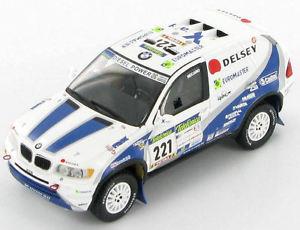 【送料無料】模型車 スポーツカー 2003 #ダカールラリーbmw x5 221 221 dakar rally 2003 143 143 s0492, 和柄アイテムshop 小都:06036678 --- sunward.msk.ru